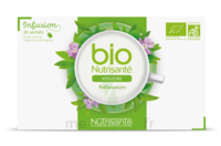 Nutrisanté Infusions Bio Tisane Verveine 20 Sachets