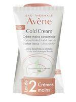 Avène Eau Thermale Cold Cream Duo Crème Mains 2x50ml à Bordeaux