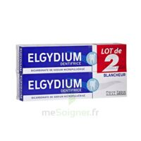 Elgydium Dentifrice Duo Blancheur Tube 2x75ml à Bordeaux