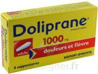 Doliprane 1000 Mg Suppositoires Adulte 2plq/4 (8) à Bordeaux
