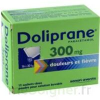 Doliprane 300 Mg Poudre Pour Solution Buvable En Sachet-dose B/12 à Bordeaux