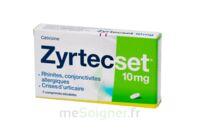ZYRTECSET 10 mg, comprimé pelliculé sécable à Bordeaux