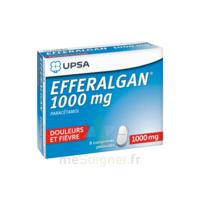Efferalgan 1000 mg Comprimés pelliculés Plq/8 à Bordeaux