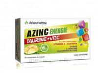 Azinc Energie Taurine + Vitamine C Comprimés à Croquer Dès 15 Ans B/30 à Bordeaux