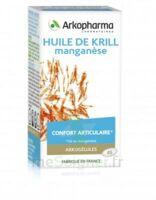 Arkogélules Huile De Krill Manganèse Caps Fl/45 à Bordeaux