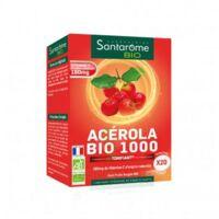 Santarome Bio Acérola 1000 Comprimés à croquer 2T/10 à Bordeaux