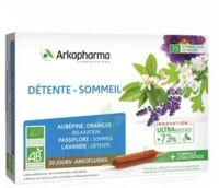 Arkofluide Bio Ultraextract Solution Buvable Détente Sommeil 20 Ampoules/10ml à Bordeaux