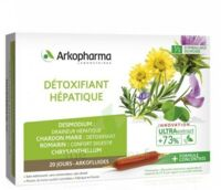 Arkofluide Bio Ultraextract Solution buvable détoxifiant hépatique 20 Ampoules/10ml à Bordeaux