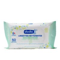 Dodie Lingettes Nettoyantes Bio B/50 à Bordeaux