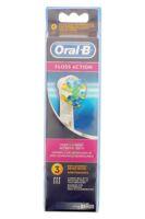 Brossette De Rechange Oral-b Floss Action X 3 à Bordeaux