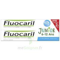 Fluocaril Junior Dentifrice Bubble Gum 6-12ans 2t/75ml à Bordeaux