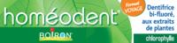 Boiron Homéodent Soin Complet Dents Et Gencives Pâte Dentifrice Chlorophylle Format Voyage T/25ml à Bordeaux