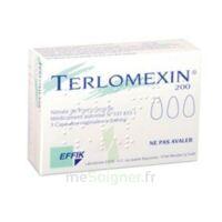Terlomexin 200 Mg, Capsule Molle Vaginale à Bordeaux