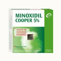 MINOXIDIL COOPER 5 %, solution pour application cutanée à Bordeaux