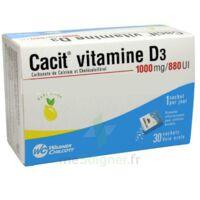 Cacit Vitamine D3 1000 Mg/880 Ui, Granulés Effervescents 90sach/8g à Bordeaux