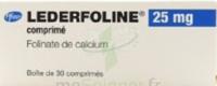 Lederfoline 25 Mg, Comprimé à Bordeaux