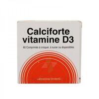 Calciforte Vitamine D3, Comprimé Plq/60cp à Bordeaux