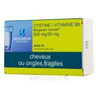 CYSTINE/VITAMINE B6 BIOGARAN CONSEIL 500 mg/50 mg Cpr pell Plq/120 à Bordeaux
