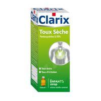 Clarix Toux Seche Pentoxyverine 0,15 % Enfants, Sirop à Bordeaux