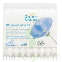 Doucenature Batonets D'oreilles Sécurité Bébé Bio 56 Unités à Bordeaux