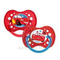 Dodie Disney Sucettes Silicone +18 Mois Cars Duo à Bordeaux