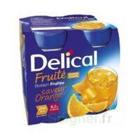 Delical Boisson Fruitee Nutriment Orange 4bouteilles/200ml