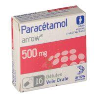 Paracetamol Arrow 500 Mg, Plq/16 à Bordeaux