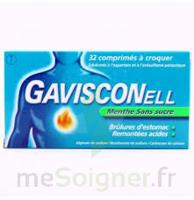 Gavisconell Coprimés à Croquer Sans Sucre Menthe édulcoré à L'aspartam Et à L'acésulfame Potas Plq/24 à Bordeaux