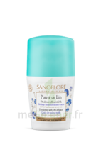 Sanoflore Déodorant Pureté De Lin Roll-on/50ml à Bordeaux