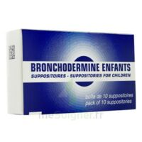 BRONCHODERMINE ENFANTS, suppositoire