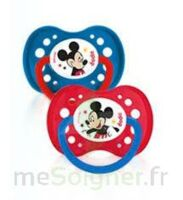 Dodie Disney Sucettes Silicone +18 Mois Mickey Duo à Bordeaux