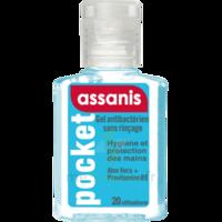 Assanis Pocket Gel Antibactérien Mains 20ml à Bordeaux