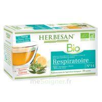 Herbesan Thym bio Tisane respiratoire 20 Sachets à Bordeaux