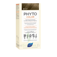 Phytocolor Kit coloration permanente 8 Blond clair à Bordeaux
