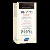 Phytocolor Kit Coloration Permanente 4.77 Châtain Marron Profond à Bordeaux