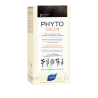 Phytocolor Kit coloration permanente 5 Châtain clair à Bordeaux