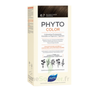 Phytocolor Kit coloration permanente 6.7 Blond foncé marron à Bordeaux