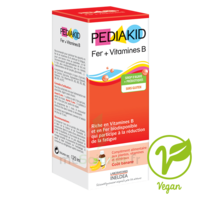 Pédiakid Fer + Vitamines B Sirop Banane 125ml à Bordeaux
