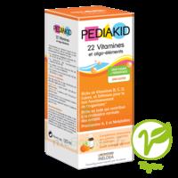 Pédiakid 22 Vitamines Et Oligo-eléments Sirop Abricot Orange 125ml à Bordeaux