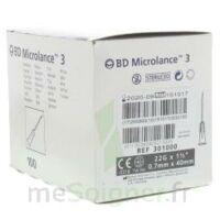 Bd Microlance 3, G22 1 1/2, 0,7 M X 40 Mm, Noir  à Bordeaux