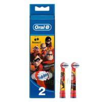 Oral B Incredibles 2 Brossette Kids Blister/2 à Bordeaux