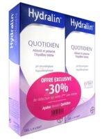 Hydralin Quotidien Gel lavant usage intime 2*400ml à Bordeaux