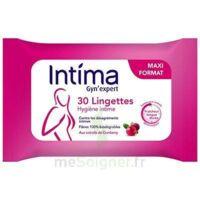 Intima Gyn'expert Lingettes Cranberry Paquet/30 à Bordeaux