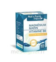 Nat&form Expert Magnésium+vitamine B6 Gélules B/40 à Bordeaux