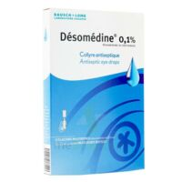 Desomedine 0,1 % Collyre Sol 10fl/0,6ml à Bordeaux