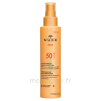 Spray Solaire Visage Et Corps Haute Protection Spf 50 Nuxe Sun150ml