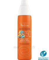 Avène Eau Thermale Solaire Spray Enfant 50+ 200ml