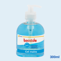Baccide Gel Mains Désinfectant Sans Rinçage 300ml à Bordeaux