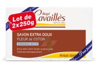 Rogé Cavaillès Savon Solide Surgras Extra Doux Fleur De Coton 2x250g à Bordeaux