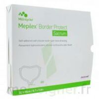 Mepilex Border Sacrum Protect Pansement Hydrocellulaire Siliconé 16x20cm B/10 à Bordeaux